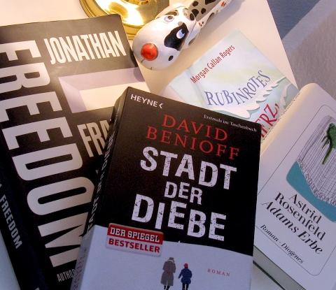 Bücher: Benioff, Franzen, Morgan, Rosenfeld