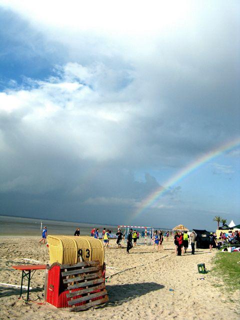 Beachhandball Strandansicht