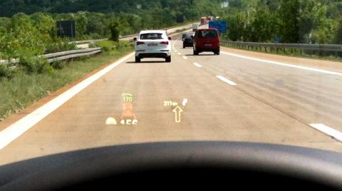 Autofahren im 5er BMW