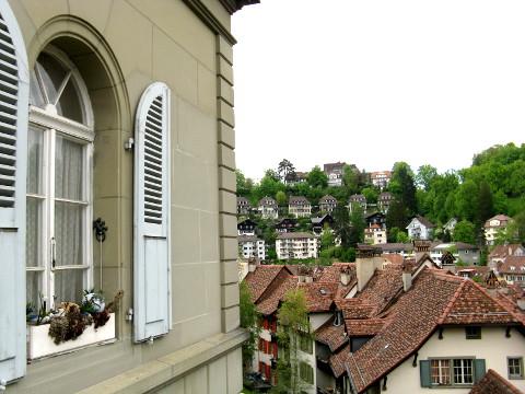 Aussicht in Bern (mit Fenster)