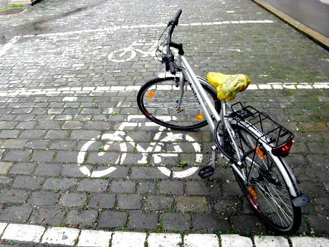Fahrradparkplatz in Bern