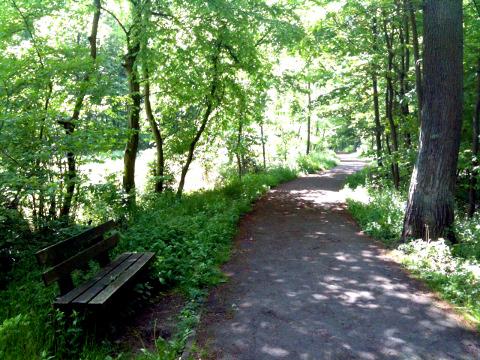 Menden - Spazierweg am Hexenteich