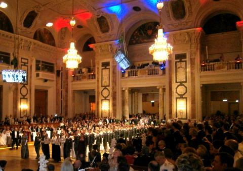 Die Eröffnung im Festsaal
