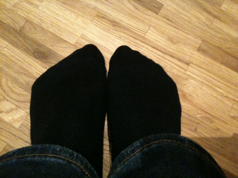 Socken, dunkelblau